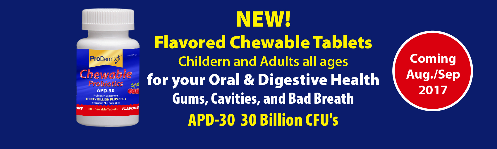 New Chewable Tablets